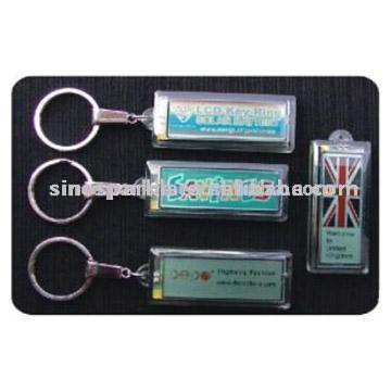Solar Flash LCD Key Chains (Солнечная Flash ЖК Брелки)