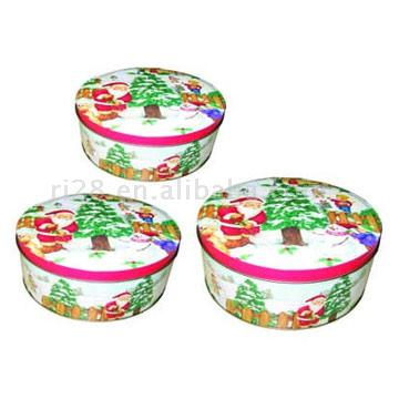 Round Set Cookie Boxes