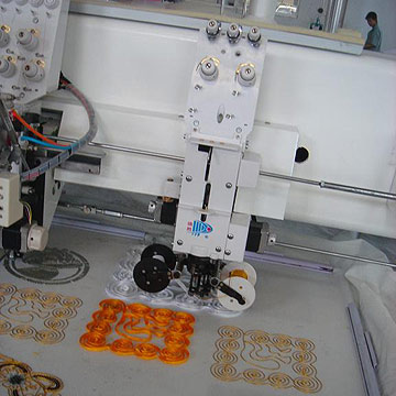 MIX cording Sequin Embroidery Machine (MIX шнур Sequin вышивальная машина)