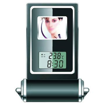 Digital Photo Frame/ Calendar Display / Temperature Sensor (Digitaler Bilderrahmen / Kalender anzeigen / Temperatur-Sensor)