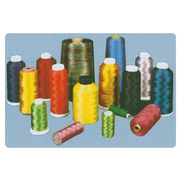 Polyester, Cotton, Rayon, Nylon and Metallic Thread (Полиэстер, хлопок, вискоза, нейлон и металлическая нить)