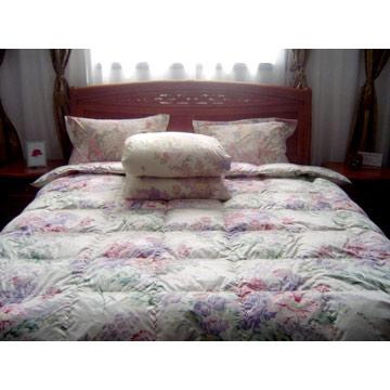Silk / Cotton Printed Quilt (Шелковые / Хлопок Печатный Одеяло)