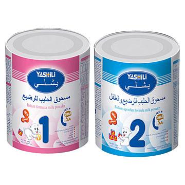 Infant Formula Milk Powder (Step 1, Step 2) (Lait maternisé en poudre pour nourrissons (étape 1, étape 2))