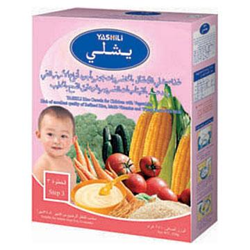 Instant Infant Rice Cereal (Step 3) (Мгновенный Детей рисовые хлопья (Шаг 3))