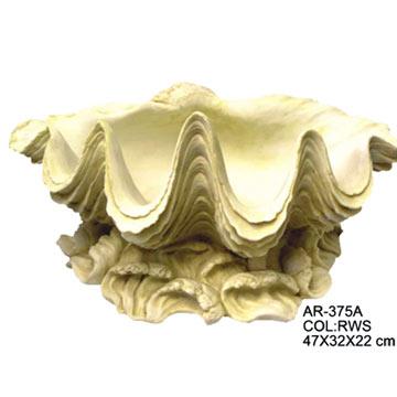 22cm Shell Planter (22см Shell Planter)