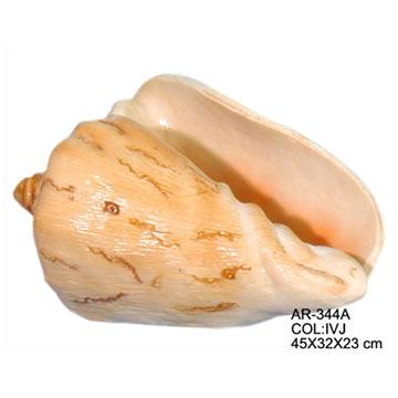 23cm Lg. Shell Planter (23см Lg. Shell Planter)