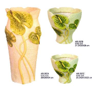 Lg., Med., Sm. Anthurium Planter (Lg. Мед., SM. Антуриум Planter)