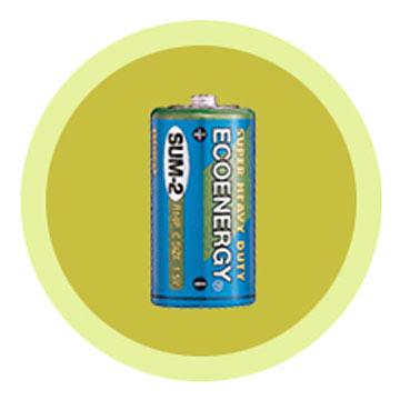 Carbon Zinc Battery (Углеродные цинковый аккумулятор)