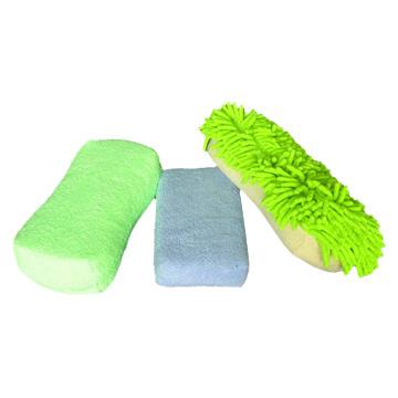 Microfiber and Sponge Applicator/Wipes (Microfiber и губки Аппликатор / Салфетки)
