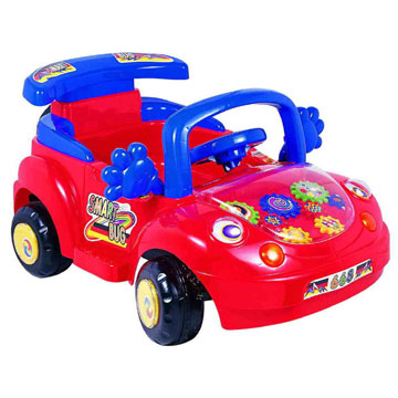 Battery Types on Of Color Orange Red White S Smart Bug Toy Car