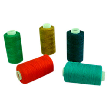 Spun Polyester Sewing Thread For Bobbin Tubes