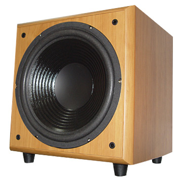1 Channel Subwoofer (1 Subwoofer-Kanal)