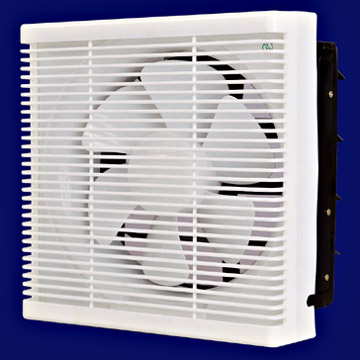 Plastic Ventilation Fan with Shutter (Plastic Ventilateur avec Shutter)