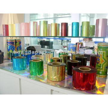 PVC and PET Rolls for Spangle Sequin and Packing (ПВХ и ПЭТ Рулоны для Spangle Sequin и упаковки)