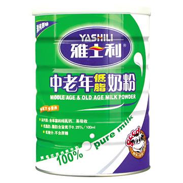 Milk Powder for Middle Age & Elders (Lait en poudre pour le Moyen-Age & Aînés)