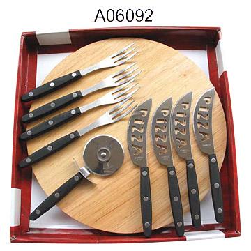 Pizza Knife Set (Пицца Набор ножей)