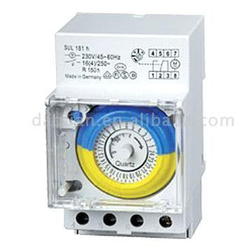 24h Timer and Time Relay, Time Switch, Hour Meter