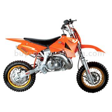 Dirt Bike with Water-Cooled Engine (Dirt Bike mit wassergekühlter Motor)