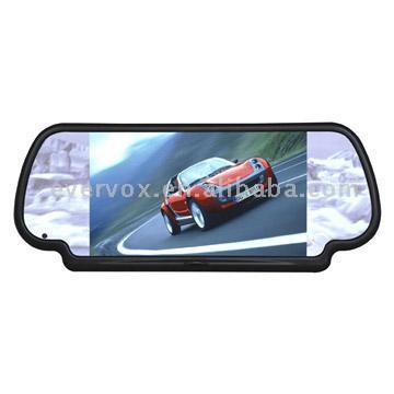 "7"" Security Rear View Mirror Monitor (7 ""Безопасность зеркало заднего вида монитор)"
