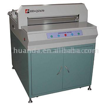 Electric Paper Cutting Machine (HD-QZ650) (Electric Paper Cutting M hine (HD-QZ650))