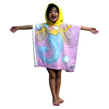 Kids Hooded Beach Towel Kids Hooded Beach Towel