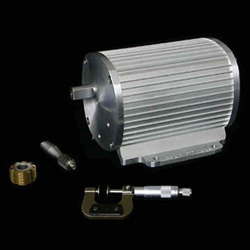 AC Capacitor-Run Gearmotor