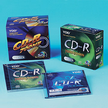 Printed CD-R in 5.2mm CD Case Pack