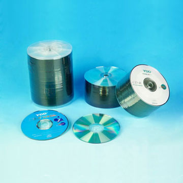 Non-Printed / Printed CD-R in Shrink Wrap Pack