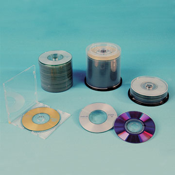 Non-Printed / Printed 80mm Mini DVD-R in Cake Pack