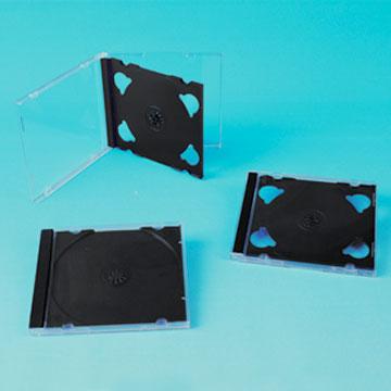 10.4mm CD Case with Black Tray (Single / Double / Triple) (10.4mm CD Case с Черным лоток (Single / Double / Triple))