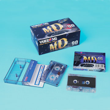 MD Brand Blank Audio Tape (46/60/90 Minutes)