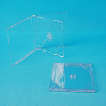 10.4mm Transparent CD Case (Single / Double / Triple) (10.4mm Прозрачные CD Case (Single / Double / Triple))