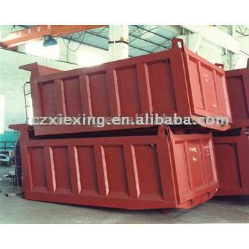 Auto-Unloading Truck Carriage (Auto-Entladung LKW Transporte)