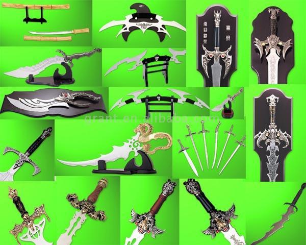 Movie Decorative Sword (Movie декоративные меч)