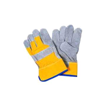 Cow Split Leather Gloves (Корова Сплит кожа Перчатки)
