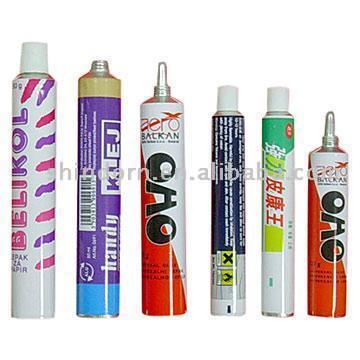 Aluminum Squeezing Tubes with 4-Color Printing (Сжатие Алюминиевые трубы с 4-цветная печать)