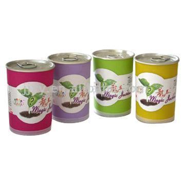 Magic Beans in Colored Plastic Cans (Волшебные бобы в цветных пластиковых Банки)