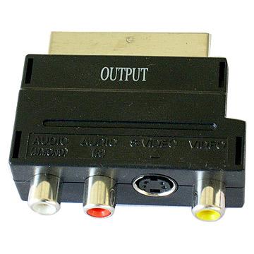 Scart Adapter (Prises péritel)