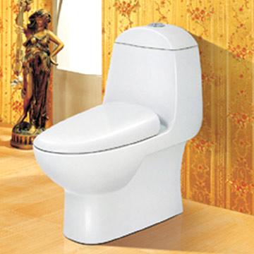 One-piece Toilet (Цельная Туалет)