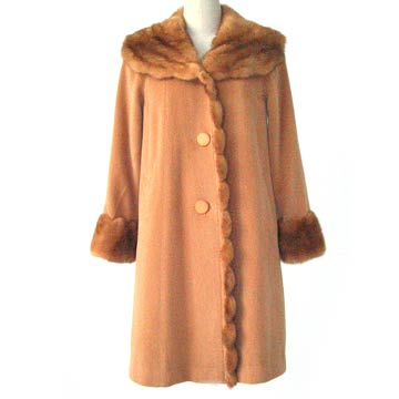 Women` Cashmere Overcoat (Женская Cashmere Шинель)