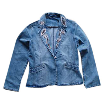 сшить детскую джинсовую куртку.