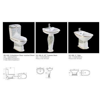 Ceramic Sanitary Ware (KB-006) (Керамическая сантехника (КБ-006))