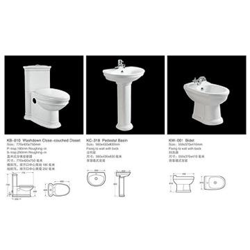 Whole Set Toilet (KB-010) (Целый набор Туалет (КБ-010))