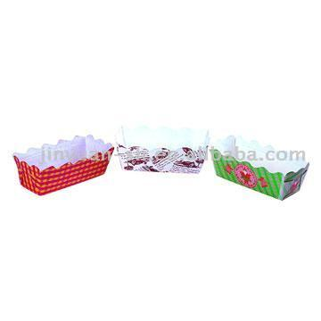 Bakery Paper Cups (Oblong)