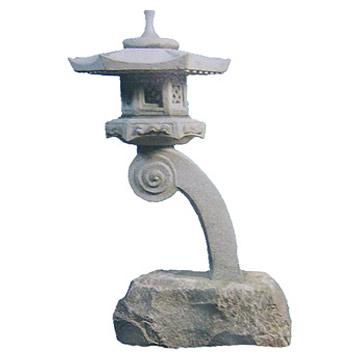 China Stone Lantern (Китай каменный фонарь)