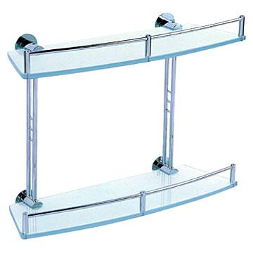 bathroom glass shelves salle de bains tablettes en verre - Tablette Salle De Bain En Verre