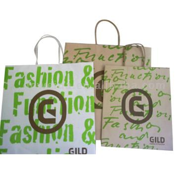 Kraft Paper Bag, Paper Shopping Bag, Gift Bag, Recycle Carrier Bag