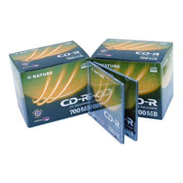 CD-R 80min 20 Slim CD Cases & Paper Boxes