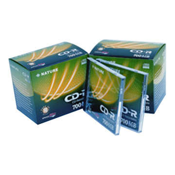 CD-R 80min 30 Slim CD Cases & Paper Boxes