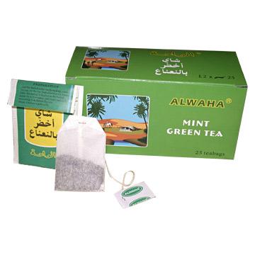 Mint Green Tea (Зеленый чай с мятой)